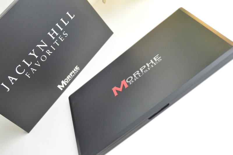 Jaclny Hill Morphe Brushes Verpackung