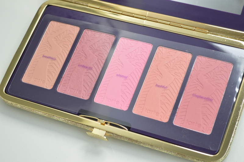 Pin Up Girl Amazonian  Blush Palette Tarte Review