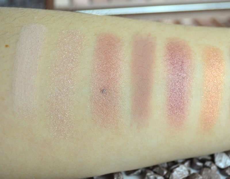 Urban Decay Naked 3 Swatches (2)