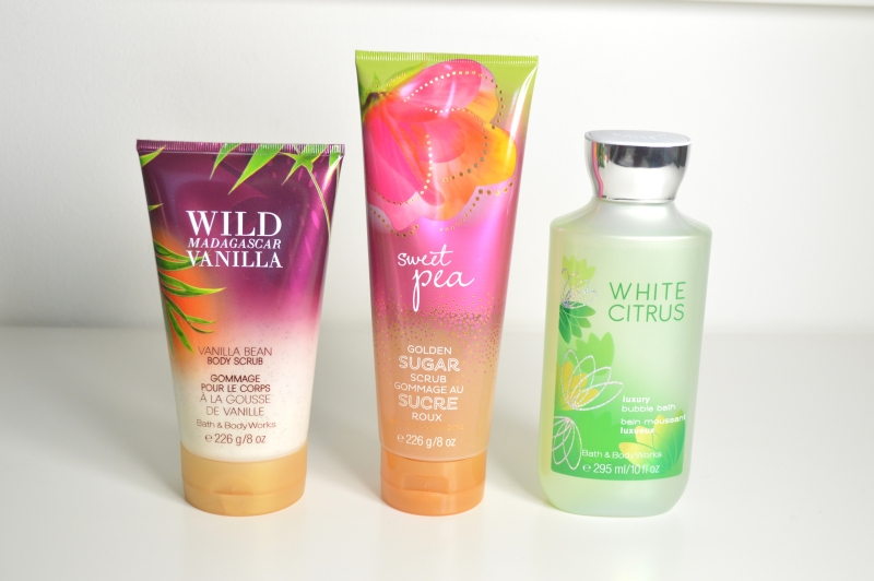Haul März Bath & Body Works Peeling Schaumbad