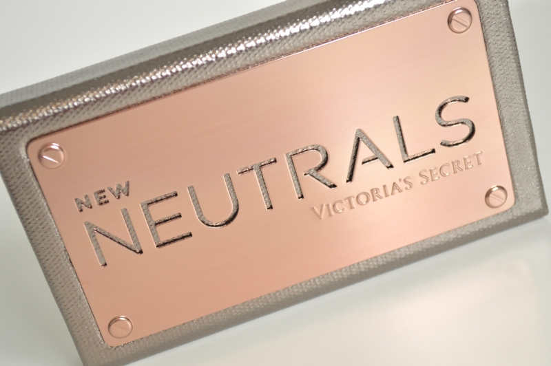Victoria's Secret New Neutrals Lidschattenpalette