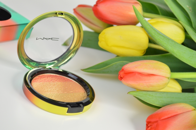 MAC Wash & Dry LE Highlighter Freshen Up Mikalicious