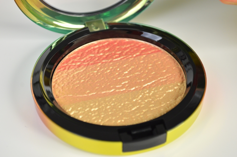 MAC Wash & Dry LE Highlighter Freshen Up Review Mikalicious