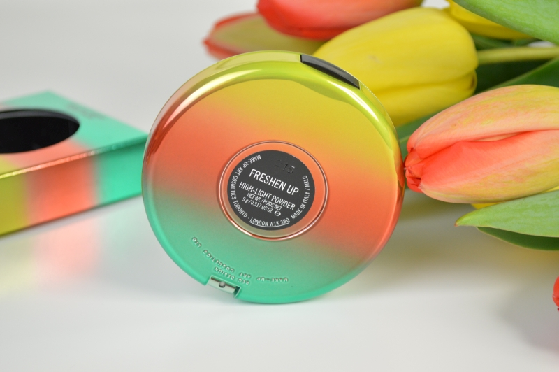 MAC Wash & Dry LE Highlighter Freshen Up Verpackung