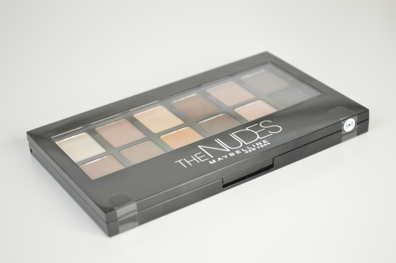 Maybelline The Nudes Lidschattenpalette Mikalicious