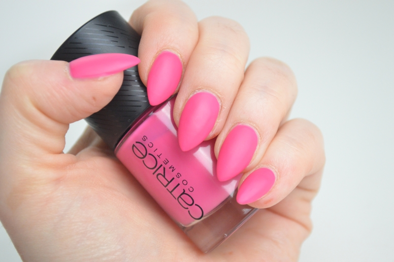 Catrice Sense of Simplicity LE Nagellack Pure Pink Swatches