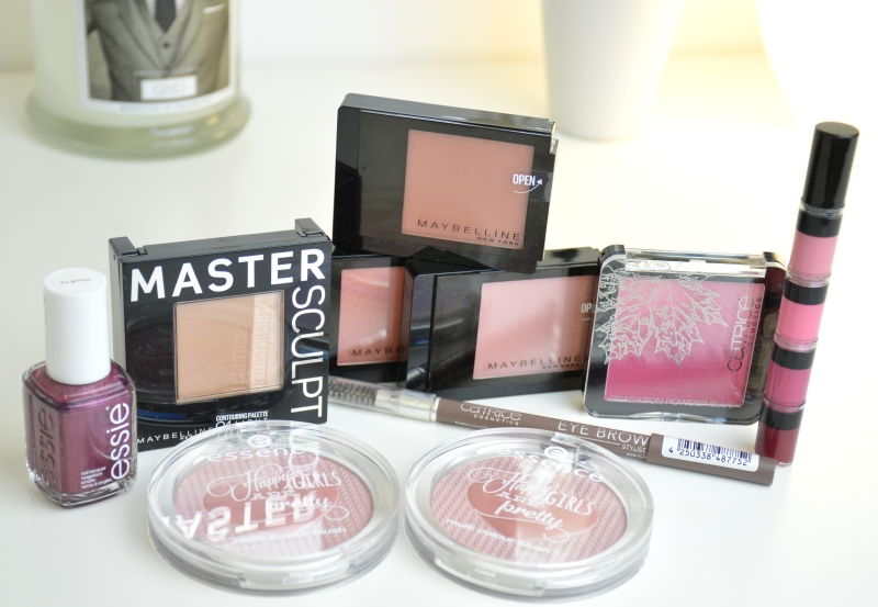 Shopping September 2015 Maybelline Catrice Essie P2 Essence