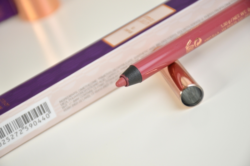 KIKO Intensely Lavish Lip Pencil in 01 Lusty Peony Lipliner