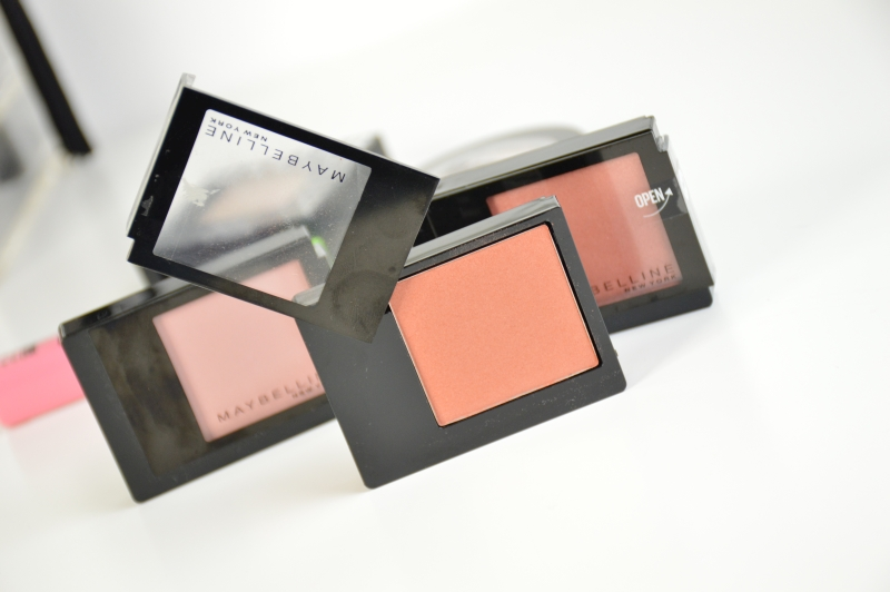 Maybelline Facestudio Blushes Brown, Pink Amber, Coral Fever Beautyblog
