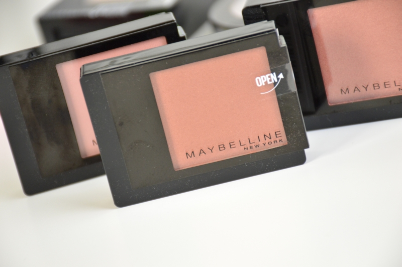 Maybelline Facestudio Blushes Brown, Pink Amber, Coral Fever Review