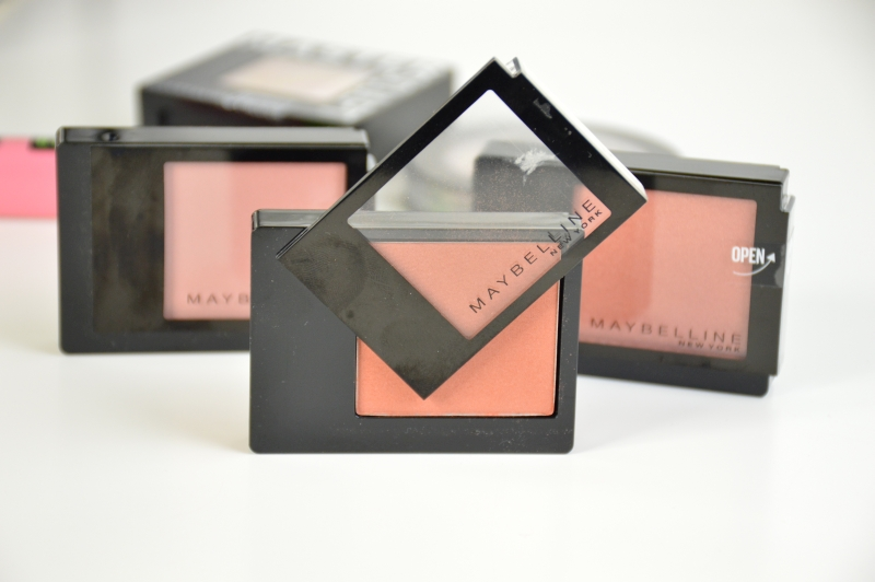 Maybelline Facestudio Blushes Brown, Pink Amber, Coral Fever Rouge