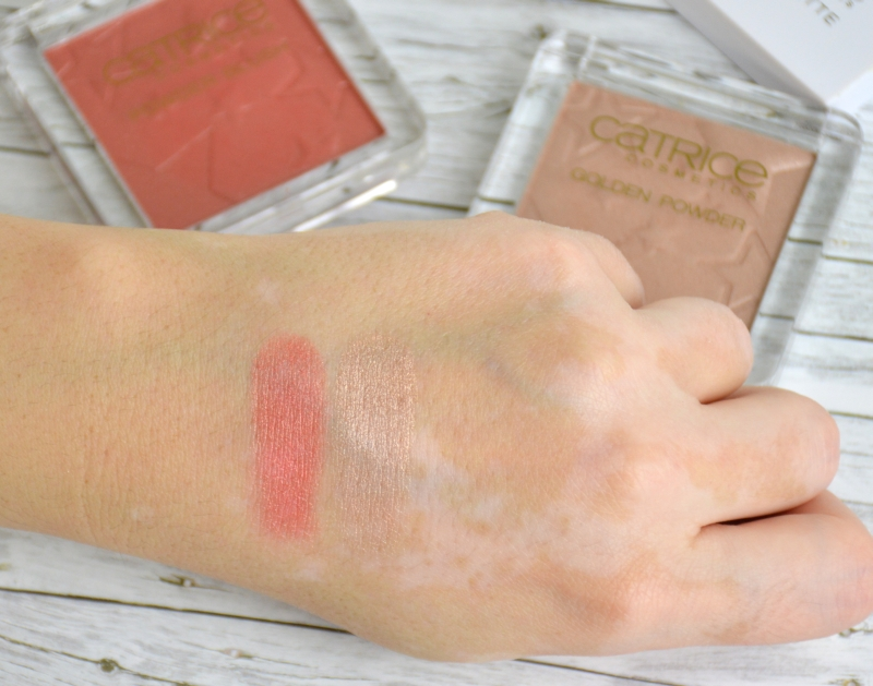 Catrice Treasure Trove LE Blush und Highlighter Swatches