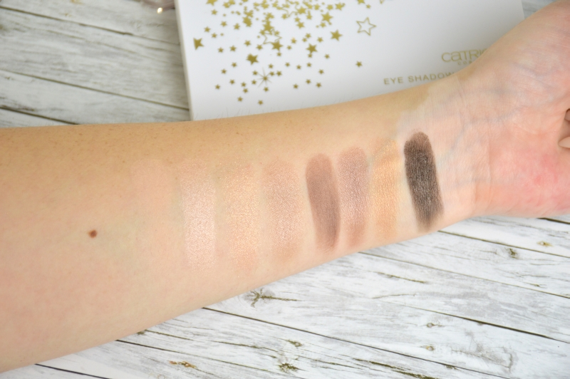 Catrice Treasure Trove LE Eye Shadow Palette Blaze of Glory Swatches