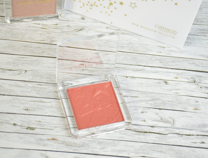 Catrice Treasure Trove LE Powder Blush Caviar and Champagne Mikalicious