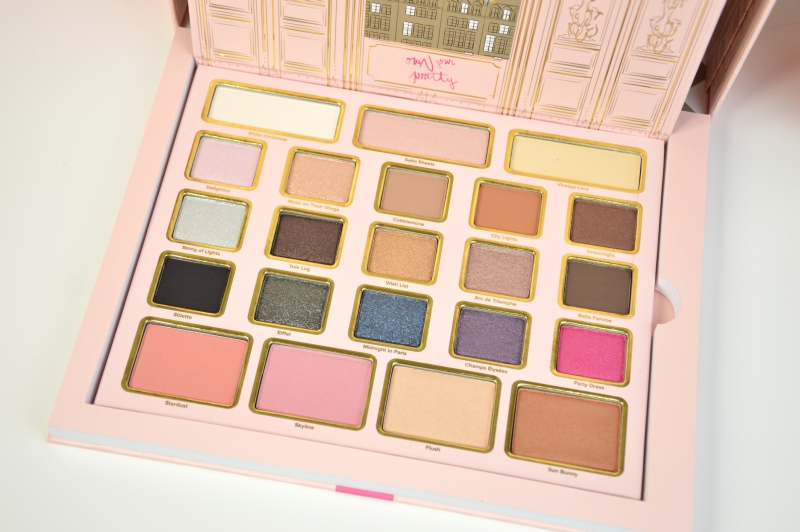 Shopping November 2015 Too Faced Le Grand Palais Palette Mikalicious