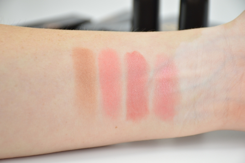 MAC Ellie Goulding LE I'll hold my breath Blush Only You Without your Love Lippenstift Swatches