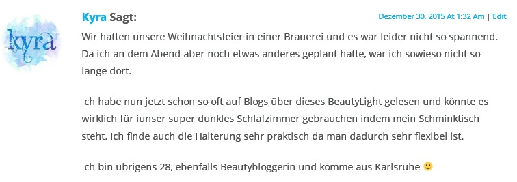 My Beauty Light Gewinnspiel Kyra