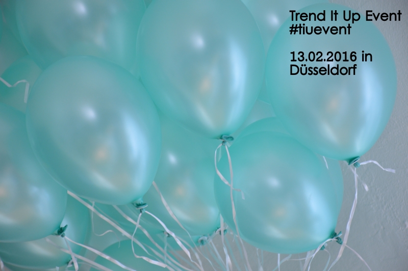 TIUEvent Trend It Up Event Blogger Ballons