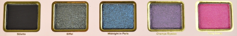 Too Faced Le Grand Palais Lidschattenpalette Reihe 4