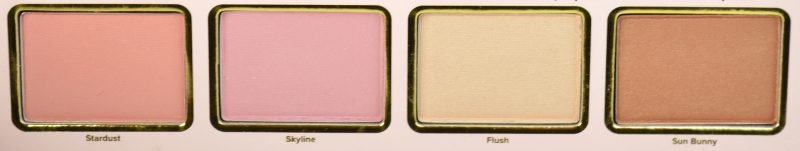 Too Faced Le Grand Palais Lidschattenpalette Reihe 5