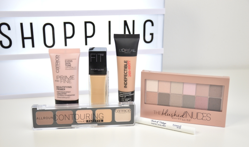 Shopping Februar 2016 Catrice Maybelline L'Oreal