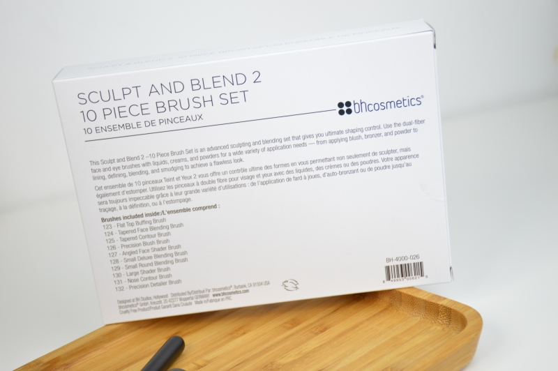 BH Cosmetics Sculpt & Blend 2 Pinselset Mikalicious