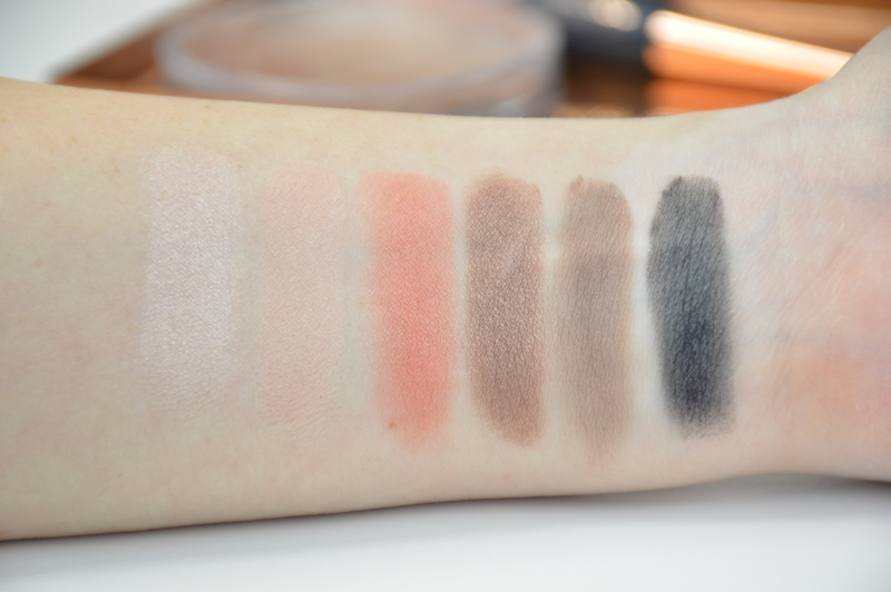 Catrice Eyeshadow Palette Injeanious Denim Divine LE Swatches