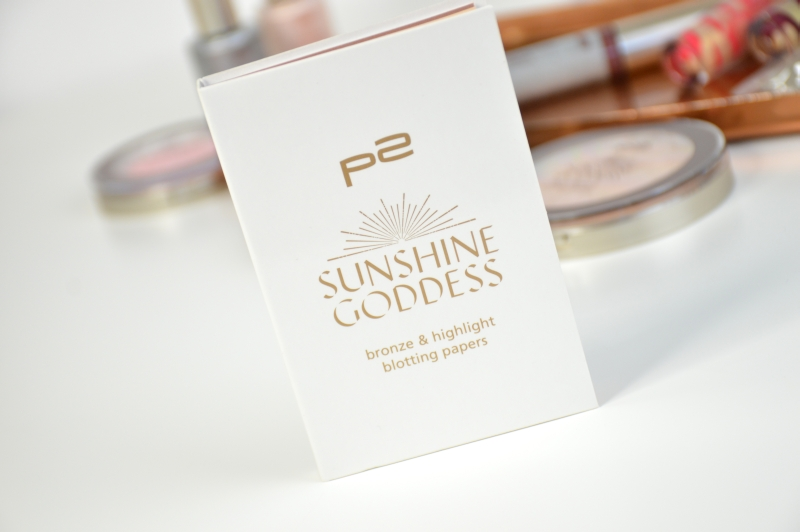 P2 Bronze & Highlight Blotting Papers Sunshine Goddess LE