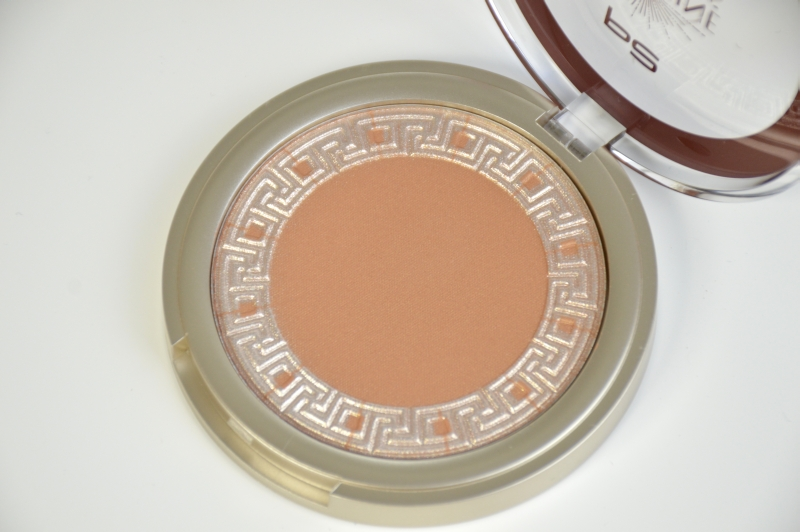 P2 Eternal Deluxe Bronzing Highligter Warm Caramel Sunshine Goddess LE Mikalicious