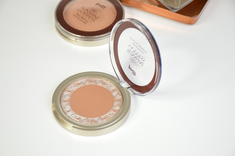 P2 Eternal Deluxe Bronzing Highligter Warm Caramel Sunshine Goddess LE Review