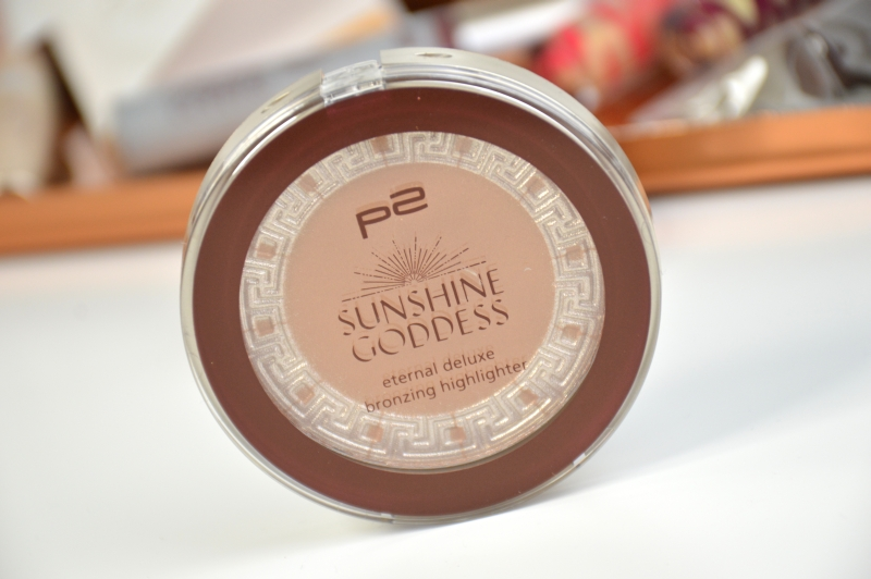 P2 Eternal Deluxe Bronzing Highligter Warm Caramel Sunshine Goddess LE