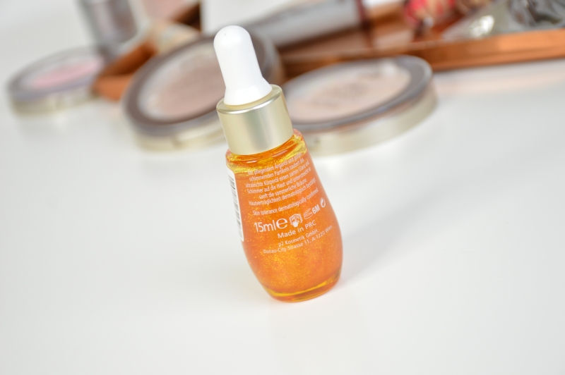 P2 Fountainof Gold Argan Oil Sunshine Goddess LE Beautyblog