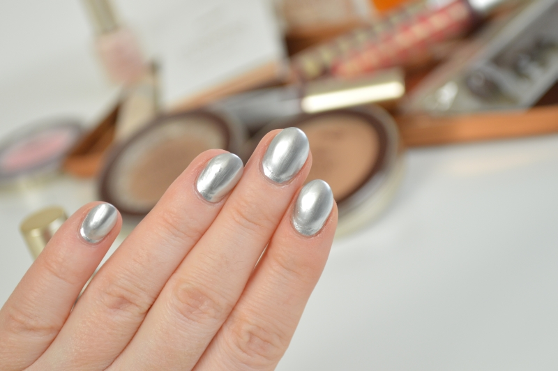 P2 Glorious Mysteries Nail Polish Silver Supreme Sunshine Goddess LE Review