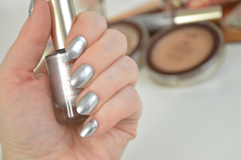 P2 Glorious Mysteries Nail Polish Silver Supreme Sunshine Goddess LE Swatches