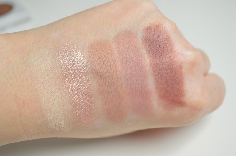 Swatches Reihe 1 Lidschatten bhcosmetics Carli Bybel Eyeshadow & Highlighter Palette