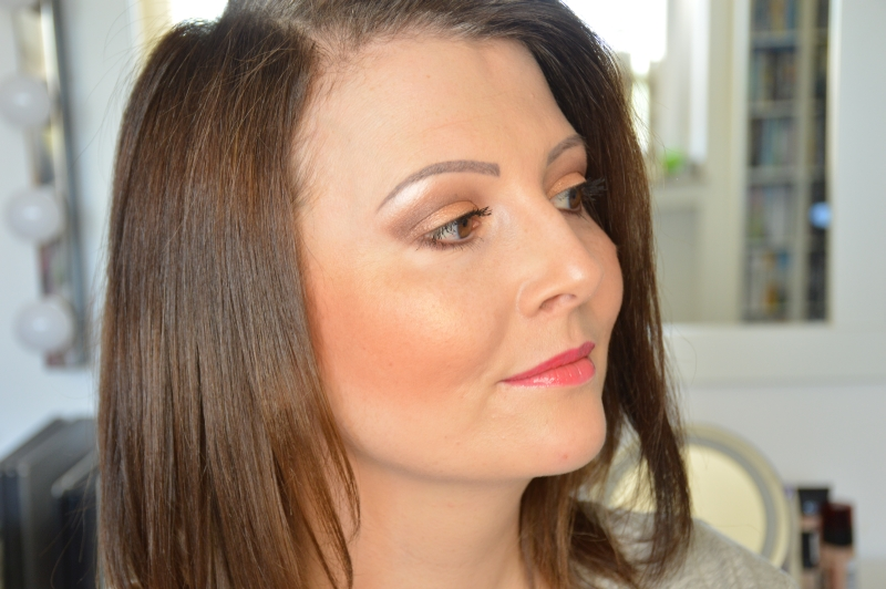 Tragebilder P2 Bronzing HIghlighter + Lipgloss Sunsational Pink Sunshine Goddess LE