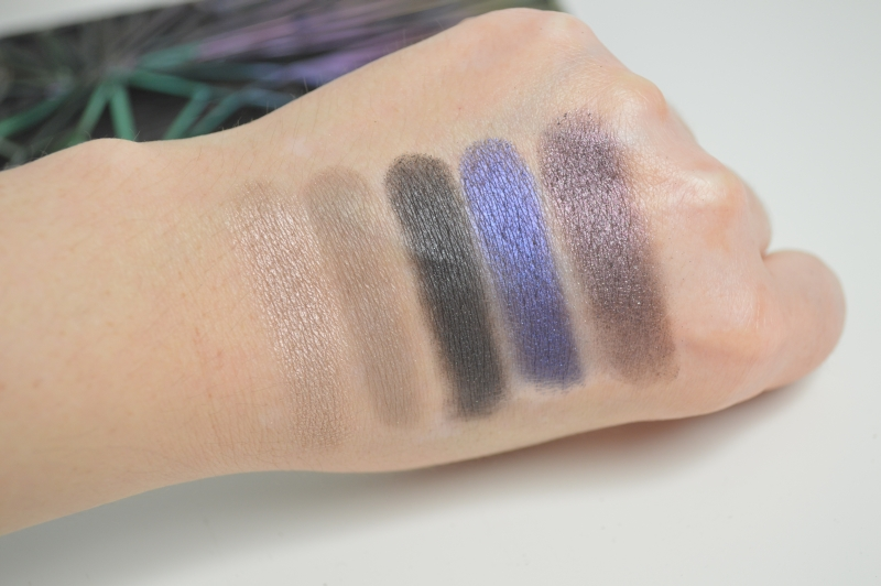 Urban Decay Vice 4  Lidschatten Reihe 1 Swatches