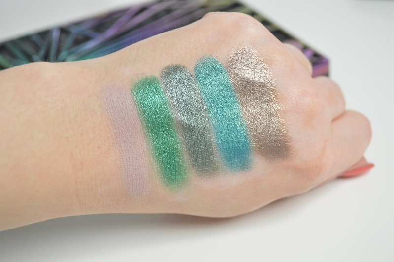 Urban Decay Vice 4  Lidschatten Reihe 3 Swatches