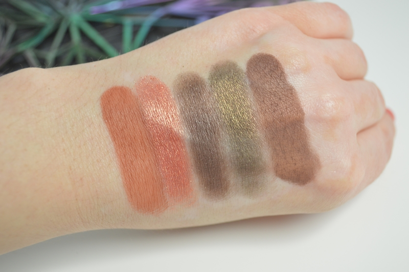 Urban Decay Vice 4  Lidschatten Reihe 4 Swatches