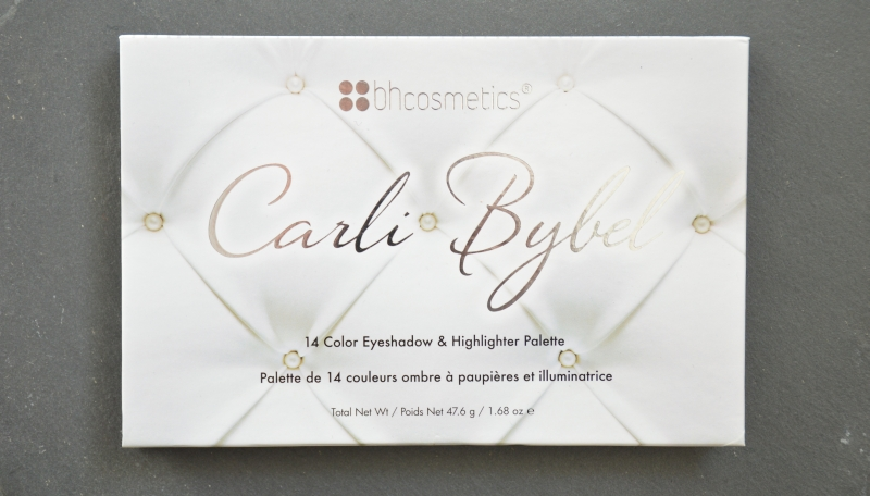 bhcosmetics Carli Bybel Eyeshadow + Highlighter Palette