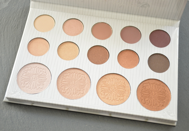 bhcosmetics Carli Bybel Eyeshadow & Highlighter Palette Mikalicious