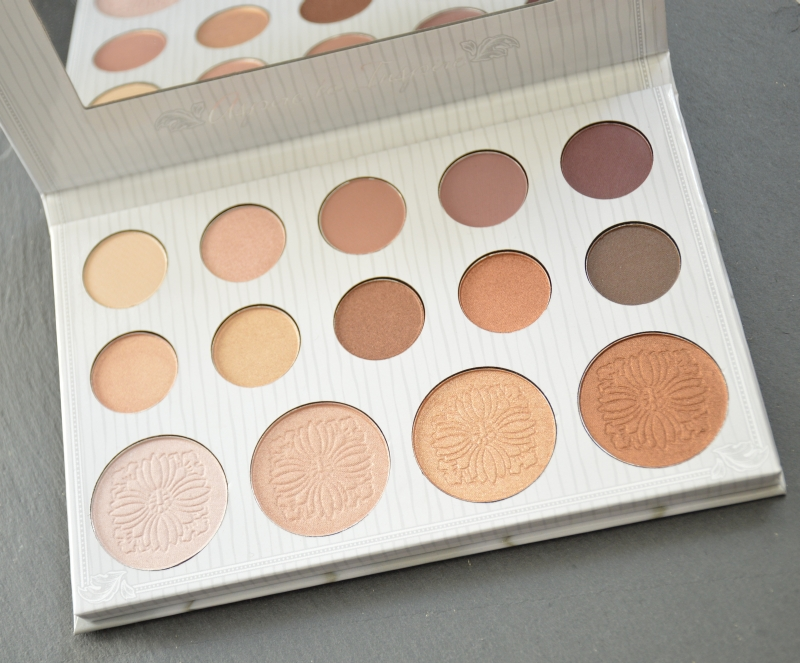bhcosmetics Carli Bybel Eyeshadow & Highlighter Palette Review Beautyblog