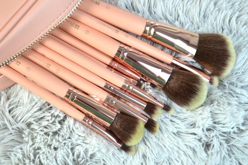 bhcosmetics bh Chic Pinselset rosegold Mikalicious Beautyblog