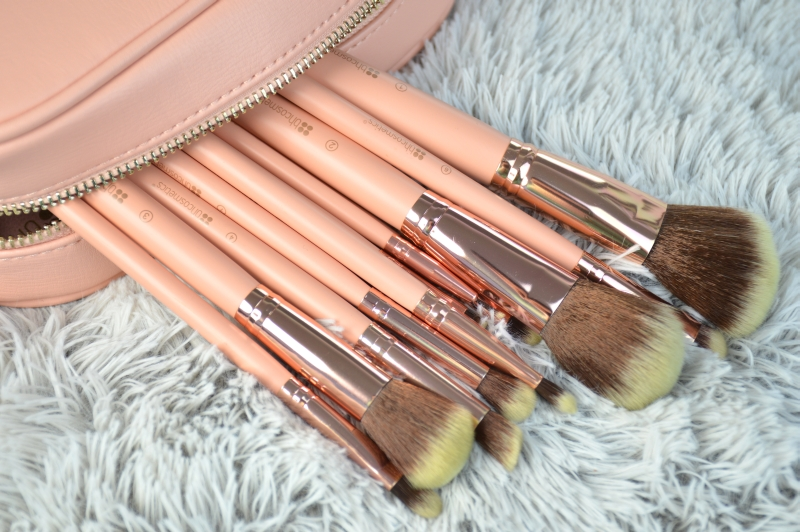 bhcosmetics bh Chic Pinselset rosegold Pinsel Review