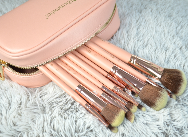 bhcosmetics bh Chic Pinselset rosegold Pinsel