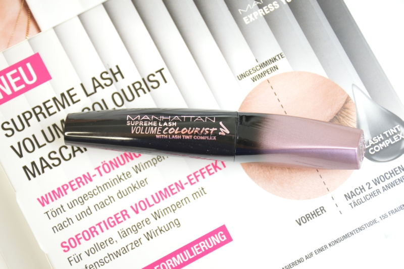 Manhattan Supreme Lash Volume Colourist with Lash Tint Complex Mascara Tönung