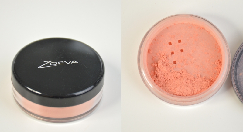 Blogsale Mikalicious Zoeva Mineral Sheer Blush in Peach Bouquet