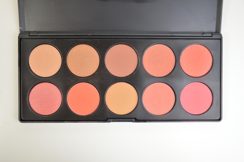 Blogsale Mikalicious Zoeva Sun Power Palette Blush Rouge
