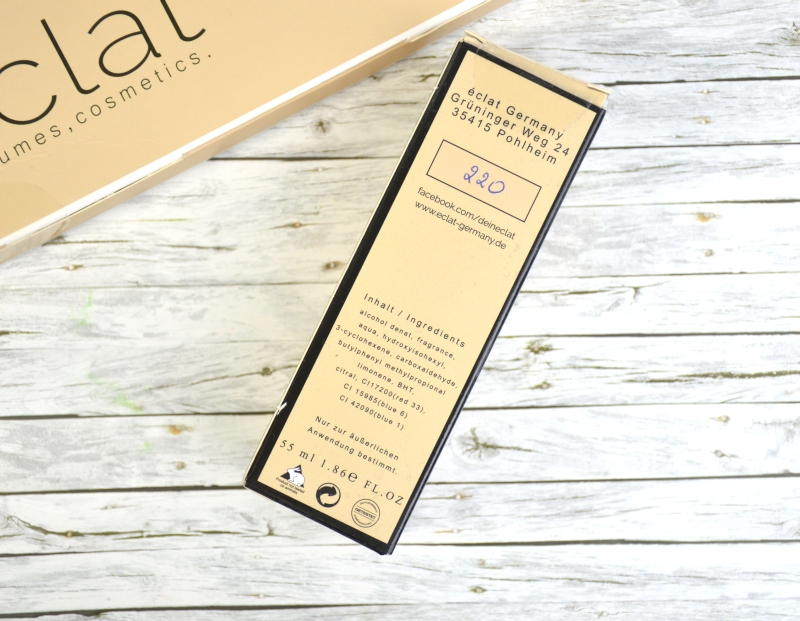 Eclat Germany Parfum  Dupe