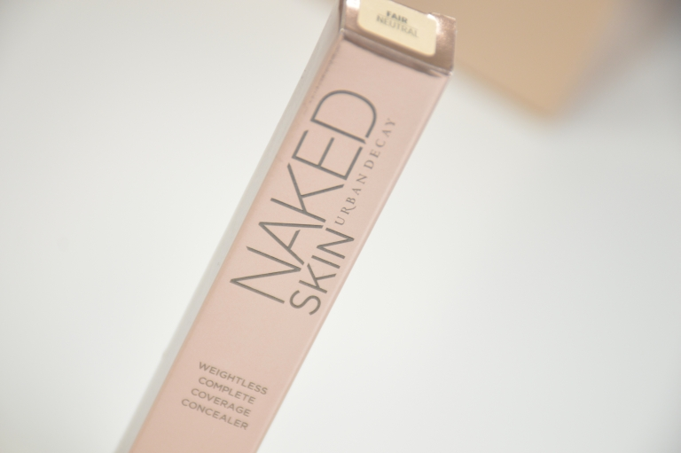 Review: Urban Decay Naked Skin Weightless Complete Coverage Concealer in Fair Neutral